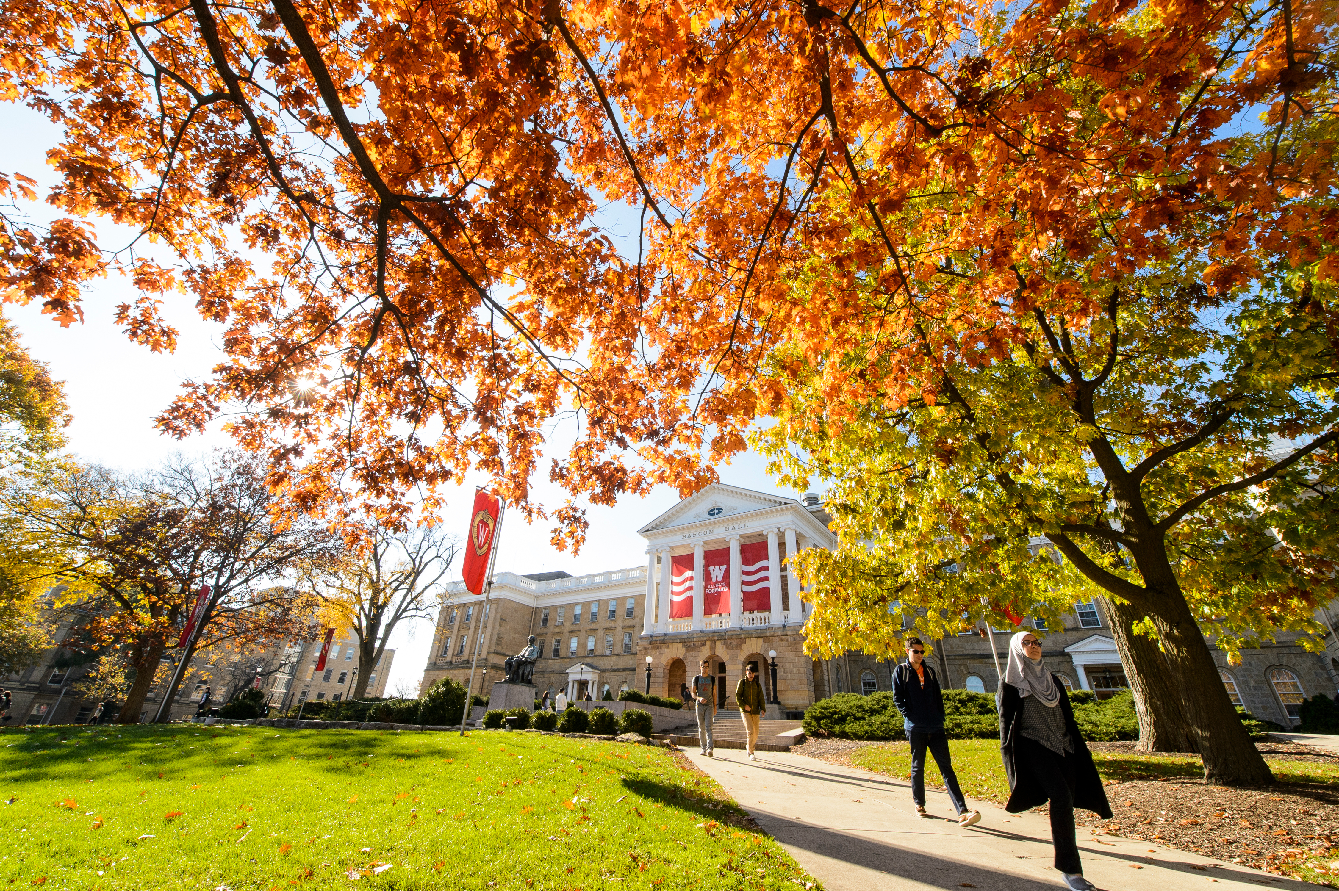 Bascom Hall in the fall