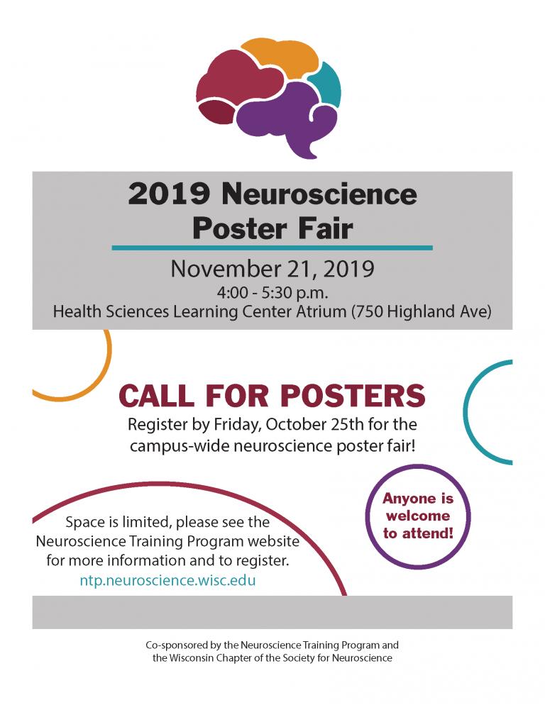 Neuroscience Poster Fair Announcement